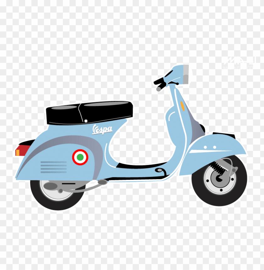 free PNG Download scooter vespa side illustration png images background PNG images transparent