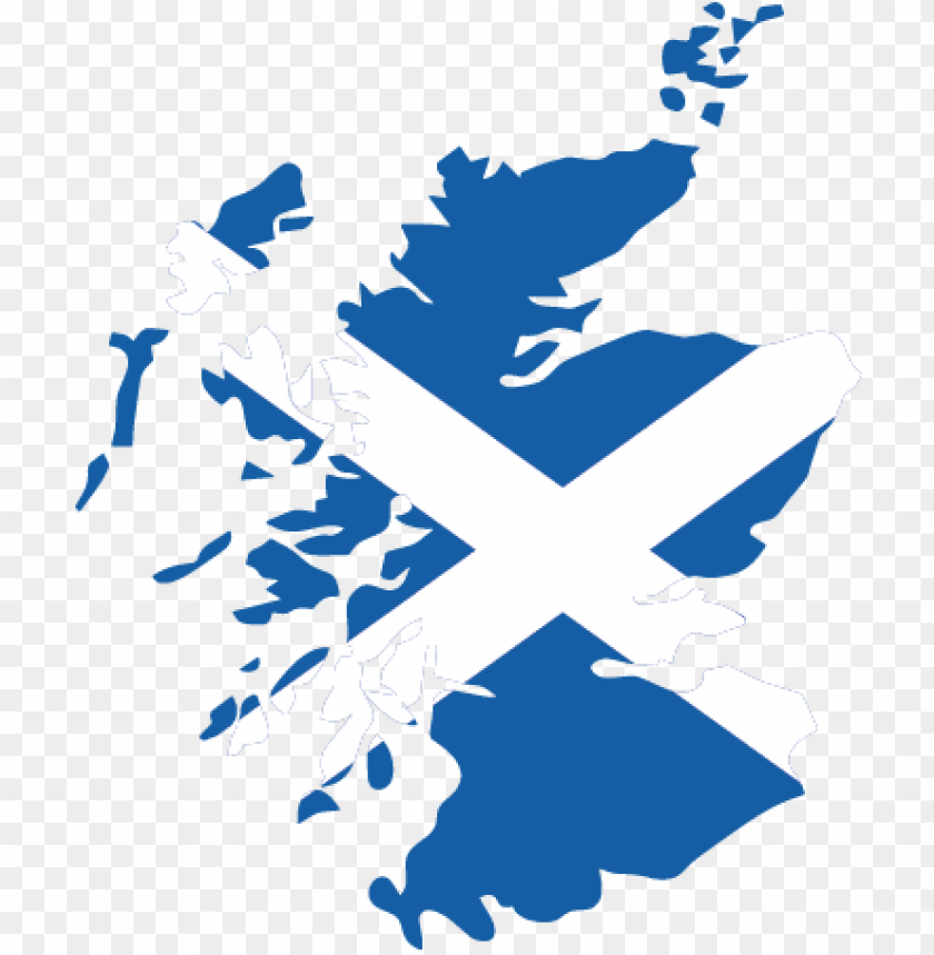 free PNG scotland flag map wall sticker - scotland clip art PNG image with transparent background PNG images transparent