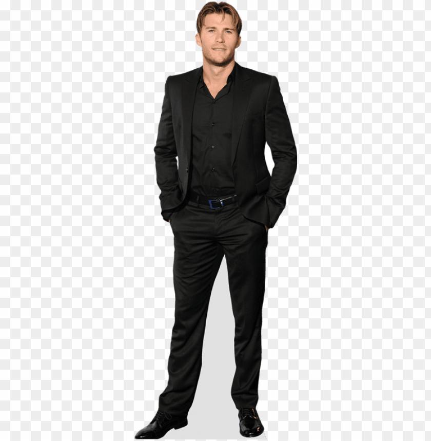 mini size Standee. Blue Suit Post Malone Cardboard Cutout