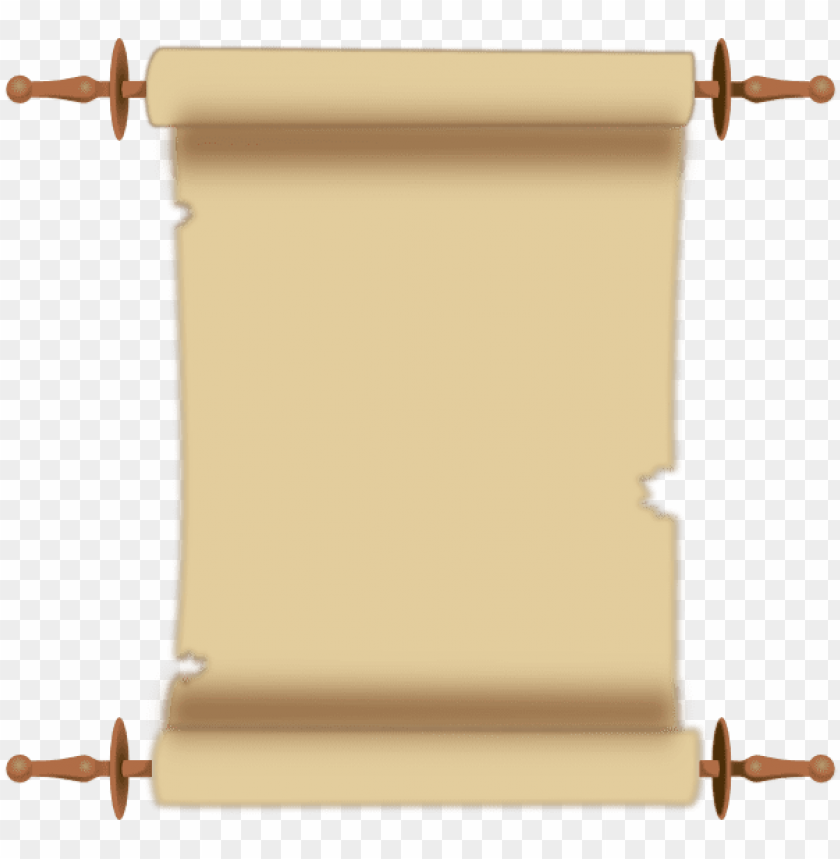free PNG scroll parchment document pergament paper - scroll clipart PNG image with transparent background PNG images transparent