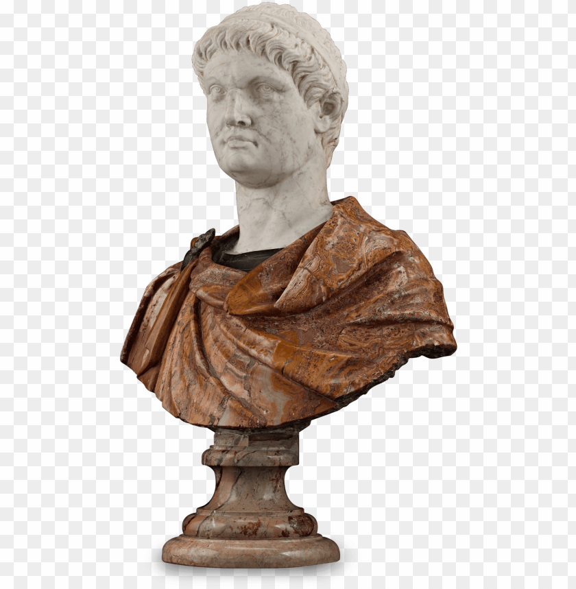 free PNG sculpture bust 17th century PNG image with transparent background PNG images transparent