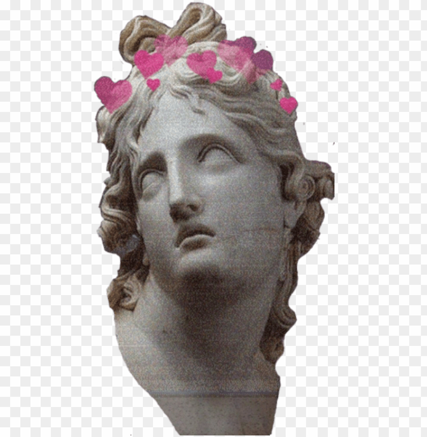 free PNG sculpture vaporwave aesthetic tumblr png transperent - pink aesthetic statue PNG image with transparent background PNG images transparent