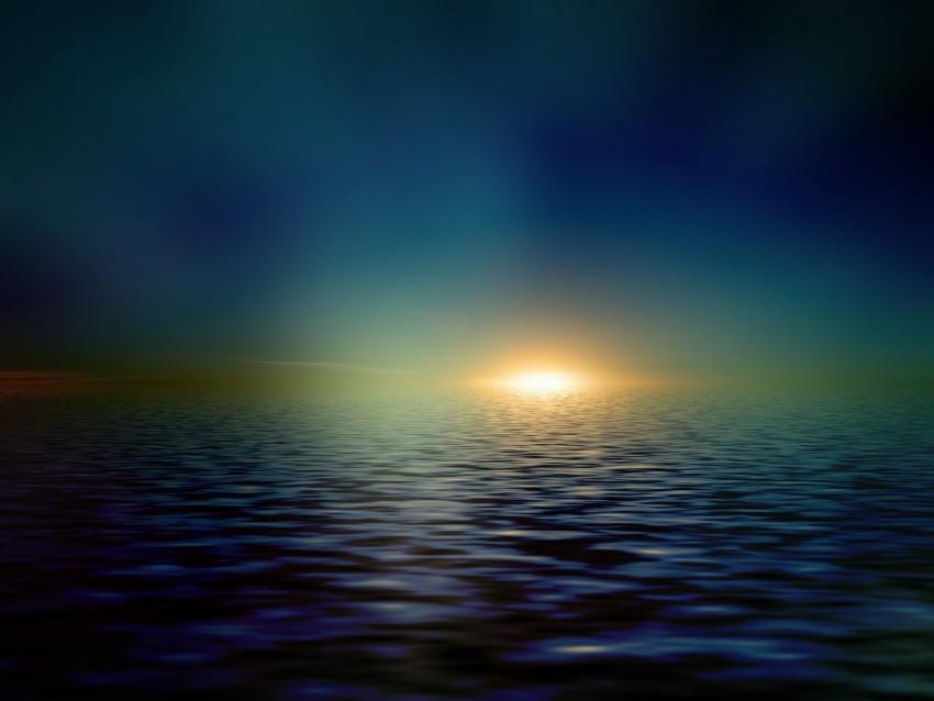 free PNG sea, horizon, shiny, minimalist, sunlight background PNG images transparent
