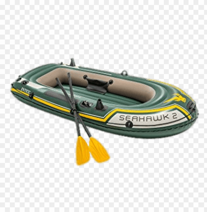 free PNG Download seahawk green inflatable dinghy png images background PNG images transparent