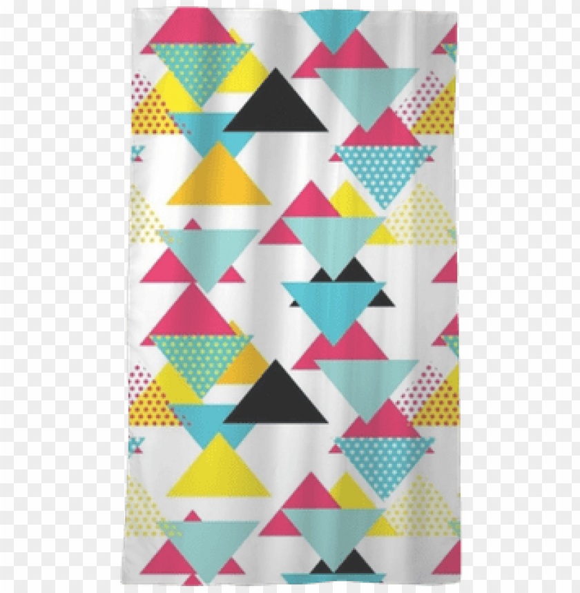 free PNG seamless geometric pattern with magenta, blue, yellow - blue PNG image with transparent background PNG images transparent