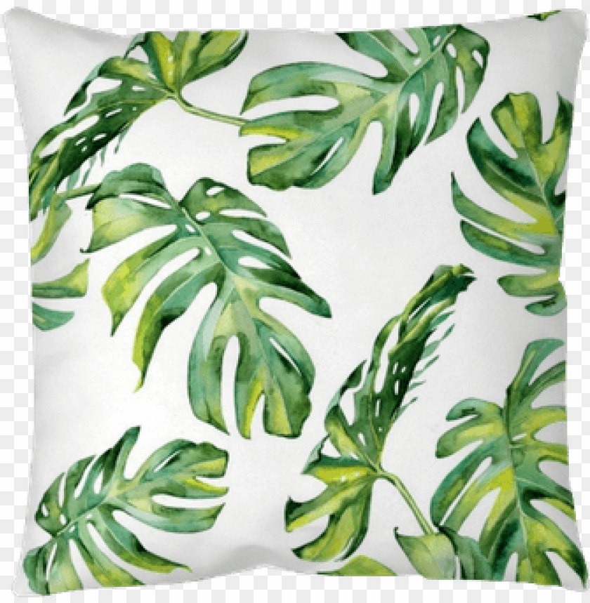 Seamless Watercolor Illustration Of Tropical Leaves Watercolour Tropical Leaf Vector Free Png Image With Transparent Background Toppng Page 1 of free vector tropical leaves. watercolour tropical leaf vector free