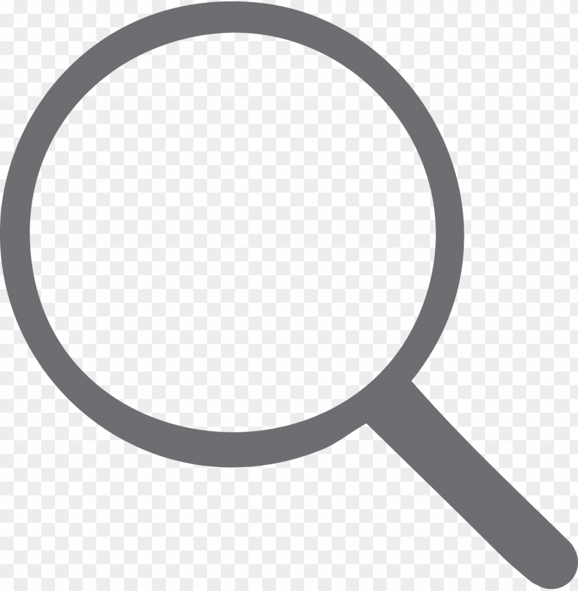 free PNG search - magnifying glass icon png grey PNG image with transparent background PNG images transparent