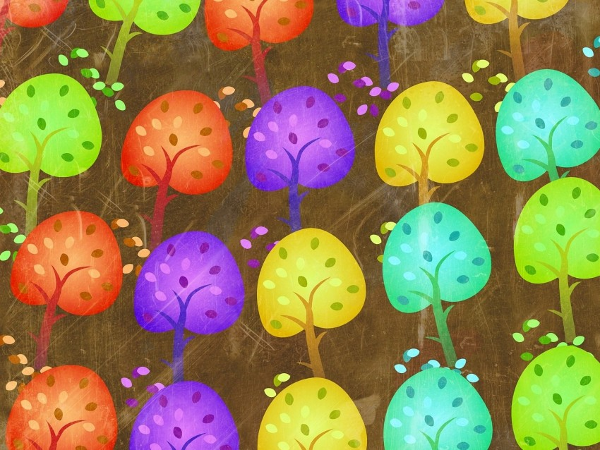 free PNG seasons, trees, art background PNG images transparent