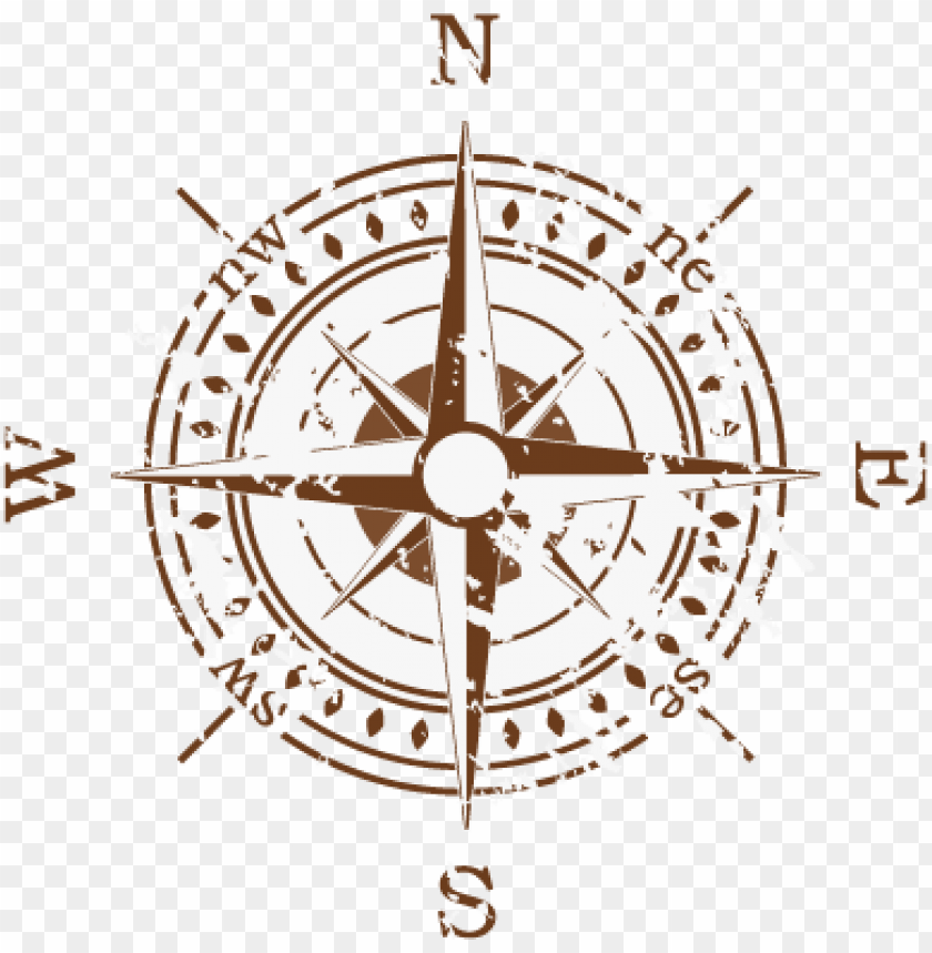 free PNG seaweed yacht club - grunge vector compass PNG image with transparent background PNG images transparent