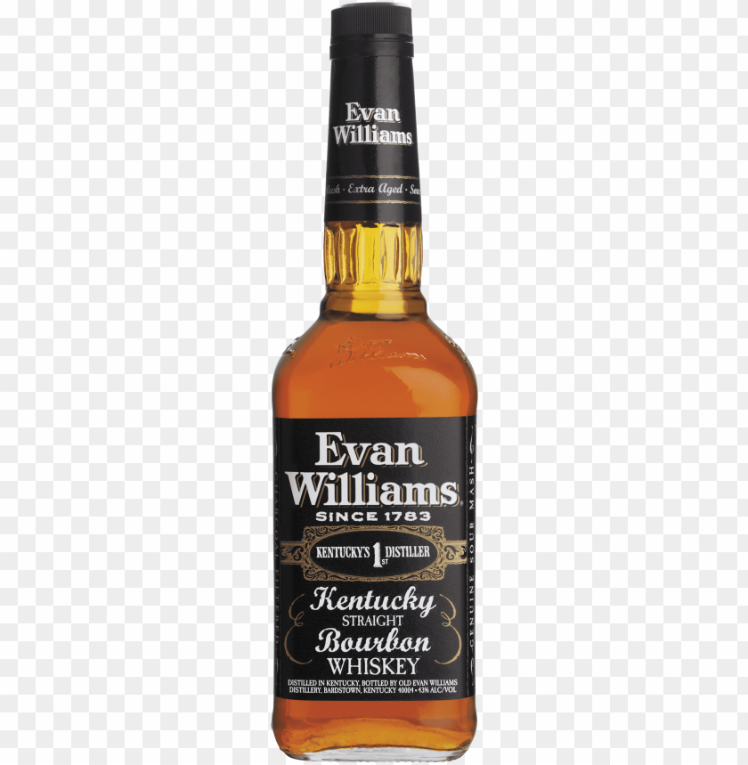 free PNG second - evan williams whiskey PNG image with transparent background PNG images transparent