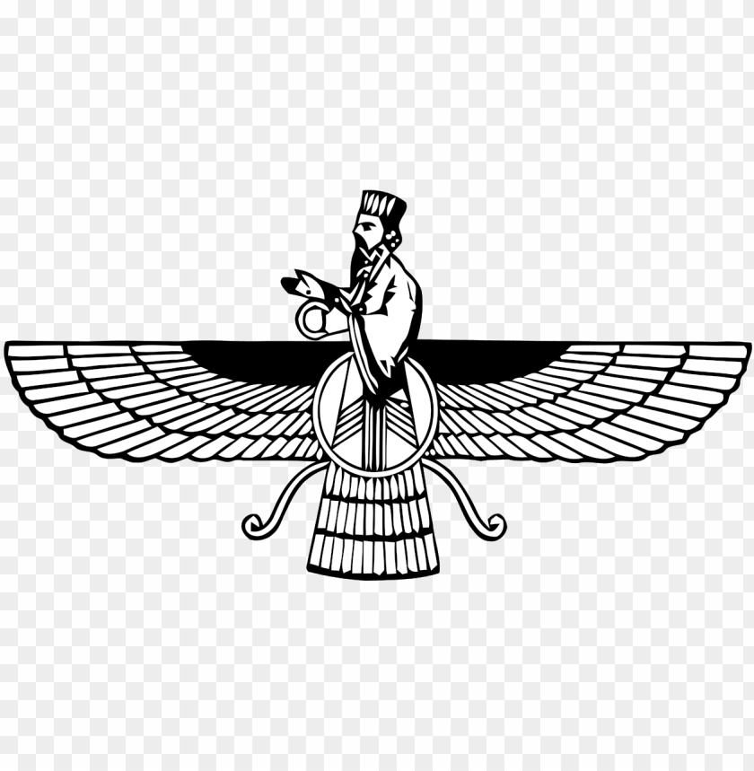 free PNG see more atheist news - zoroastrianism symbol PNG image with transparent background PNG images transparent