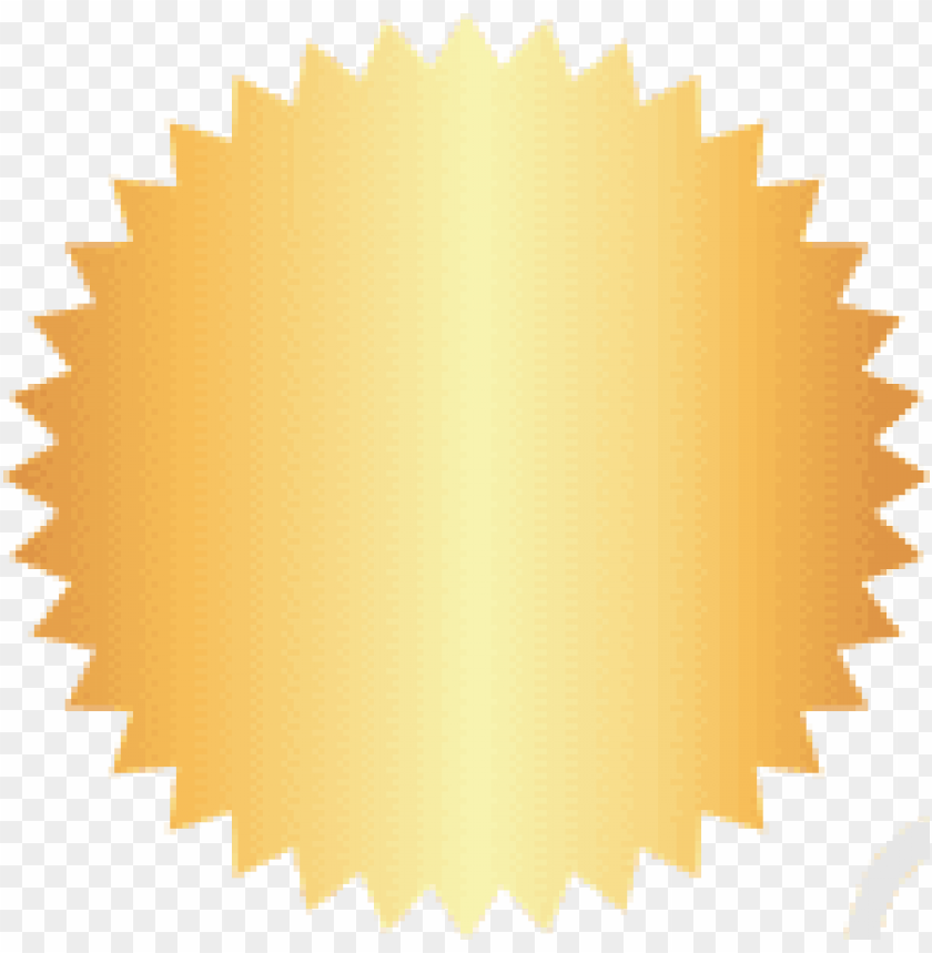 selo dourado PNG image with transparent background@toppng.com