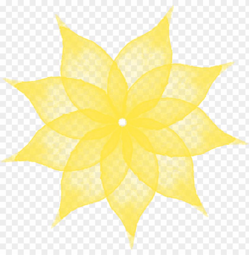 free PNG sencillo elegante creativo flores de acuarela png y - psd flower fashion flower flowers pattern PNG image with transparent background PNG images transparent