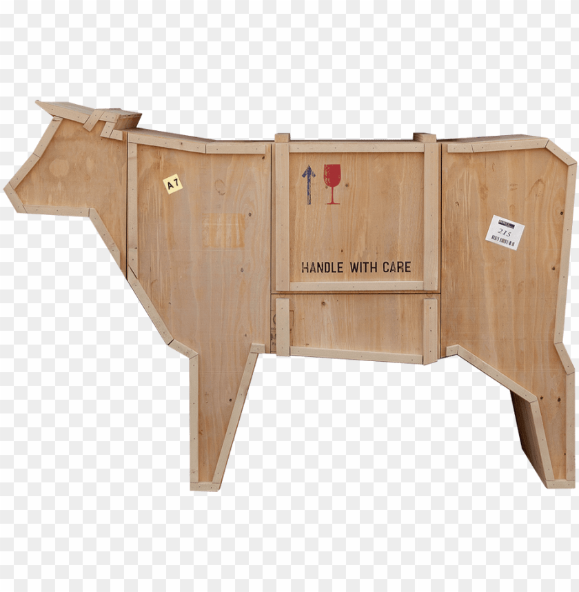 free PNG sending animals wooden furniture, cow-0 - seletti pig sending animals wooden furniture PNG image with transparent background PNG images transparent