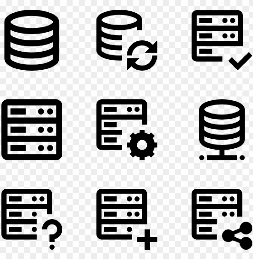 free PNG server 51 icons - server icon vector free PNG image with transparent background PNG images transparent