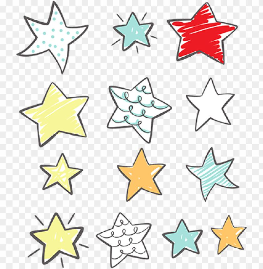 free PNG set pegatinas estrellas - pegatinas estrellas PNG image with transparent background PNG images transparent