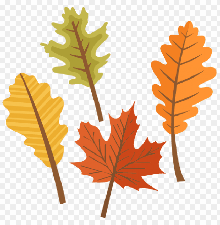 free PNG set svg scrapbook cut file files for - cute fall leaves clipart PNG image with transparent background PNG images transparent