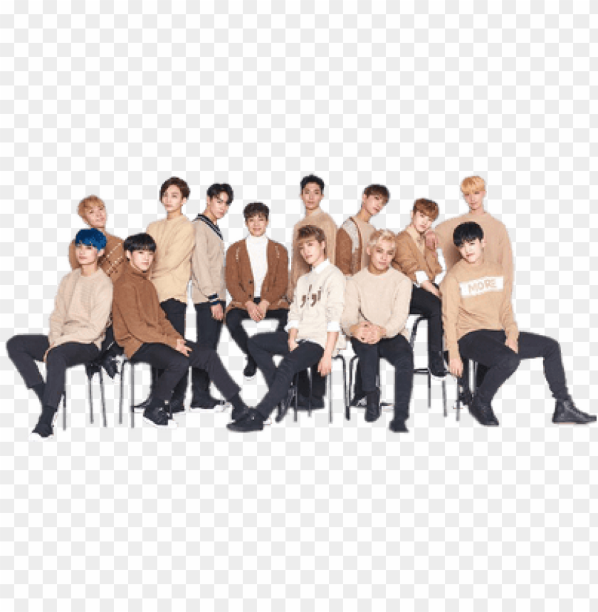 Seventeen Brown Clothes Seventeen Png Image With Transparent