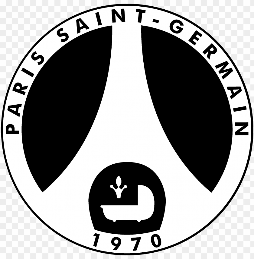 Sg Logo Black And White Logo Paris Saint Germain Negro Png Image With Transparent Background Toppng
