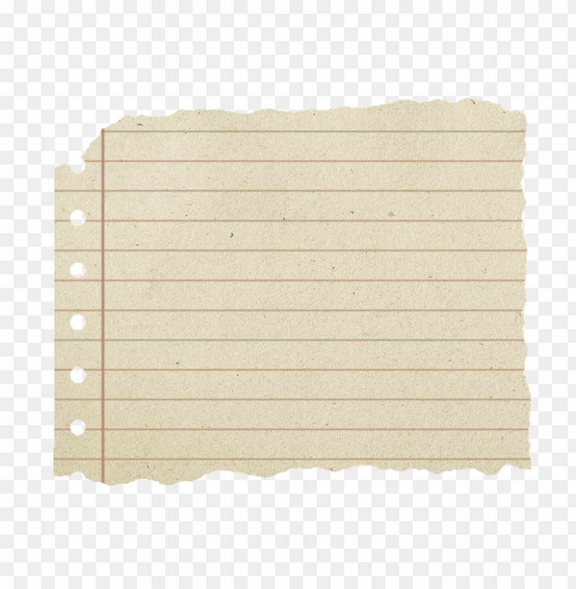 free PNG shabby paper, block, torn leaf, writing block, torn - ripped lined paper PNG image with transparent background PNG images transparent