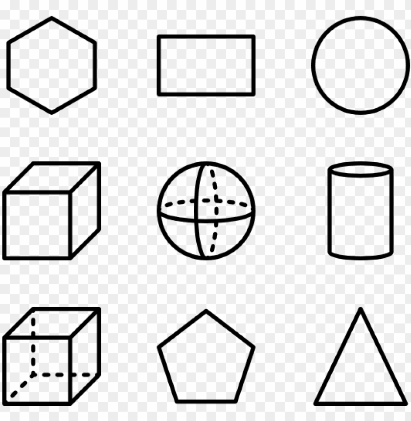 free PNG shapes - geometric shapes icon pack PNG image with transparent background PNG images transparent