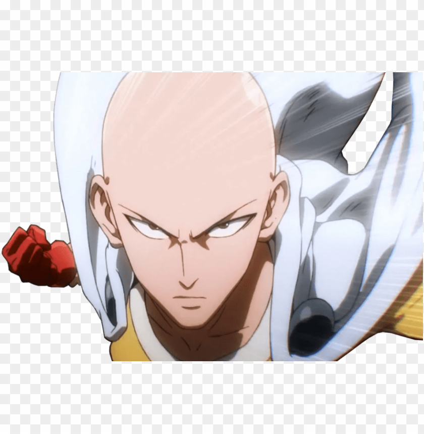 Share This Image Anime One Punch Man Saitama Png Image With Transparent Background Toppng