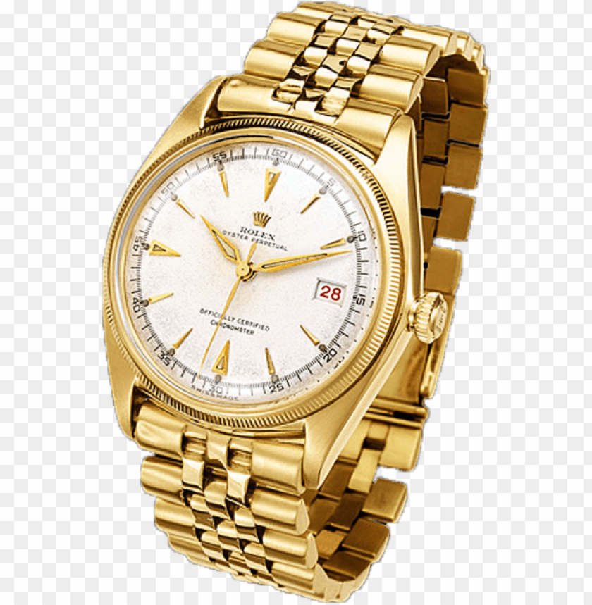 free PNG share this image - gold rolex watch PNG image with transparent background PNG images transparent