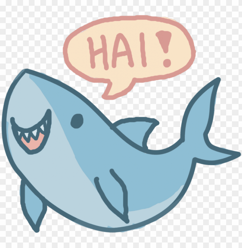 free PNG shark drawing kawaii - cute shark drawi PNG image with transparent background PNG images transparent