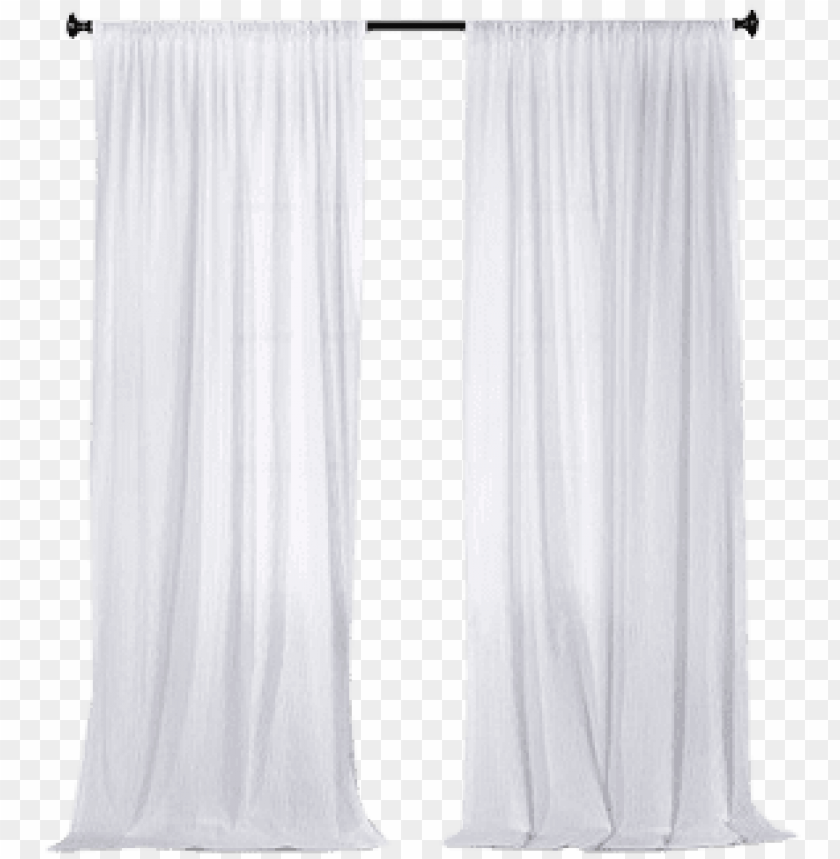 free PNG sheer curtain png - sheer white curtain transparent PNG image with transparent background PNG images transparent