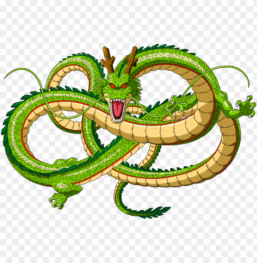 free PNG shenron dragon ball - dragon de dragon ball PNG image with transparent background PNG images transparent