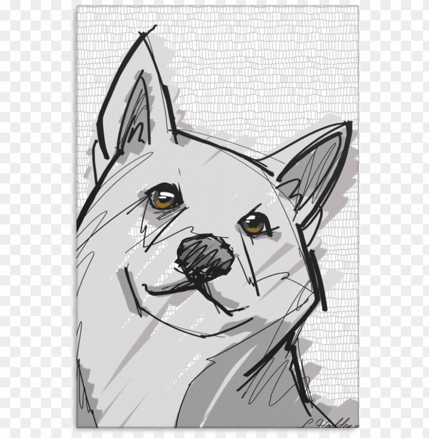 free PNG shiba inu canvas p010 - do PNG image with transparent background PNG images transparent