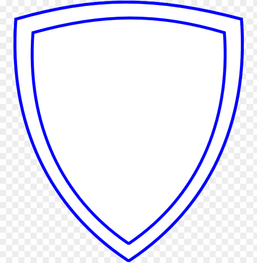 free PNG shield outline white shield with blue outline hi png - shield white blue PNG image with transparent background PNG images transparent