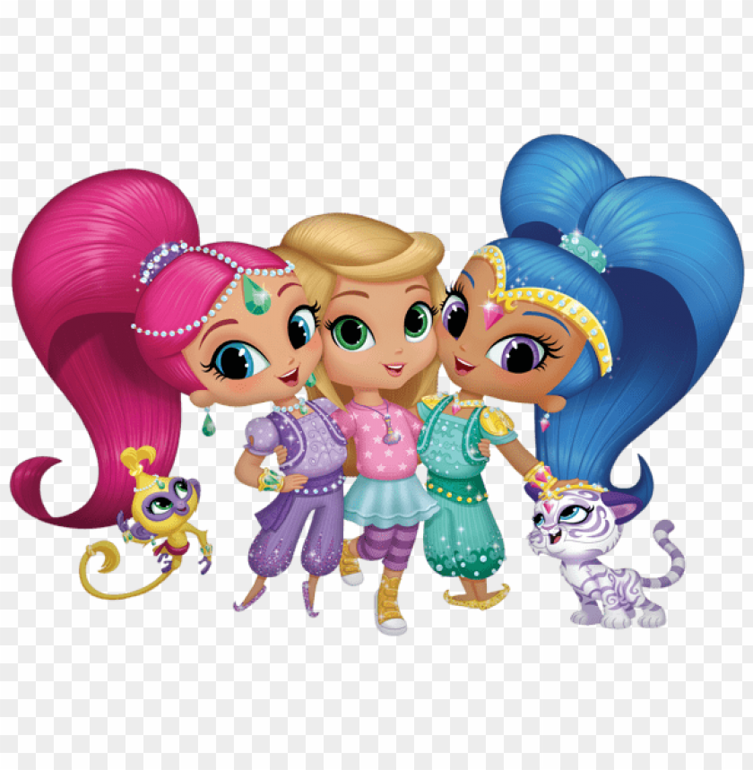 free PNG Download shimmer and shine clipart png photo   PNG images transparent