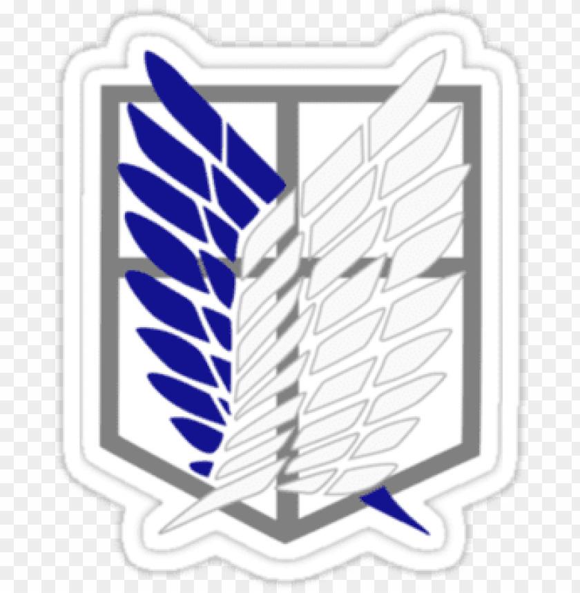 Shingeki No Kyojin Wallpaper Titled Transparent Wings Attack On Titan Shingeki No Kyojin Scouting Legio Png Image With Transparent Background Toppng