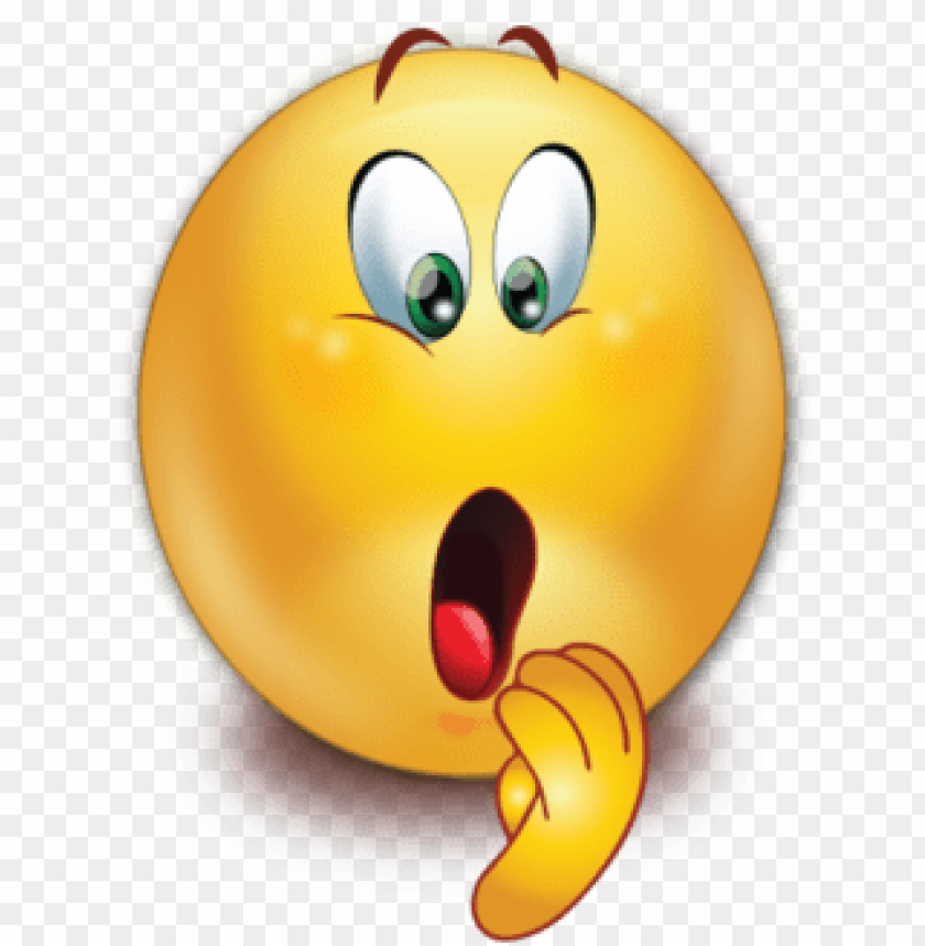 free PNG shocked face open mouse emoji - emoticon png shocked PNG image with transparent background PNG images transparent