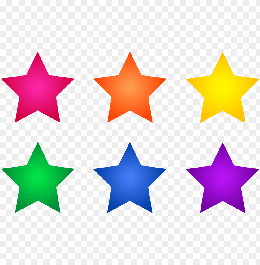 free PNG shooting star border clip art free - colorful stars clipart PNG image with transparent background PNG images transparent