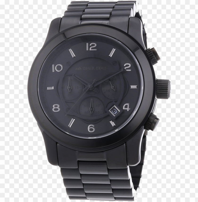 free PNG shop online to buy trendy fashion products & accessories - michael kors mk8157 mens black chronograph watch 2 PNG image with transparent background PNG images transparent