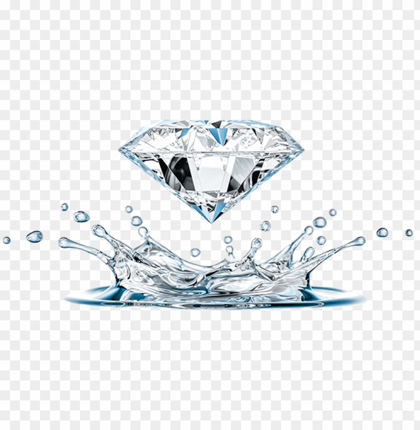 free PNG shop our diamonds - diamond splash PNG image with transparent background PNG images transparent