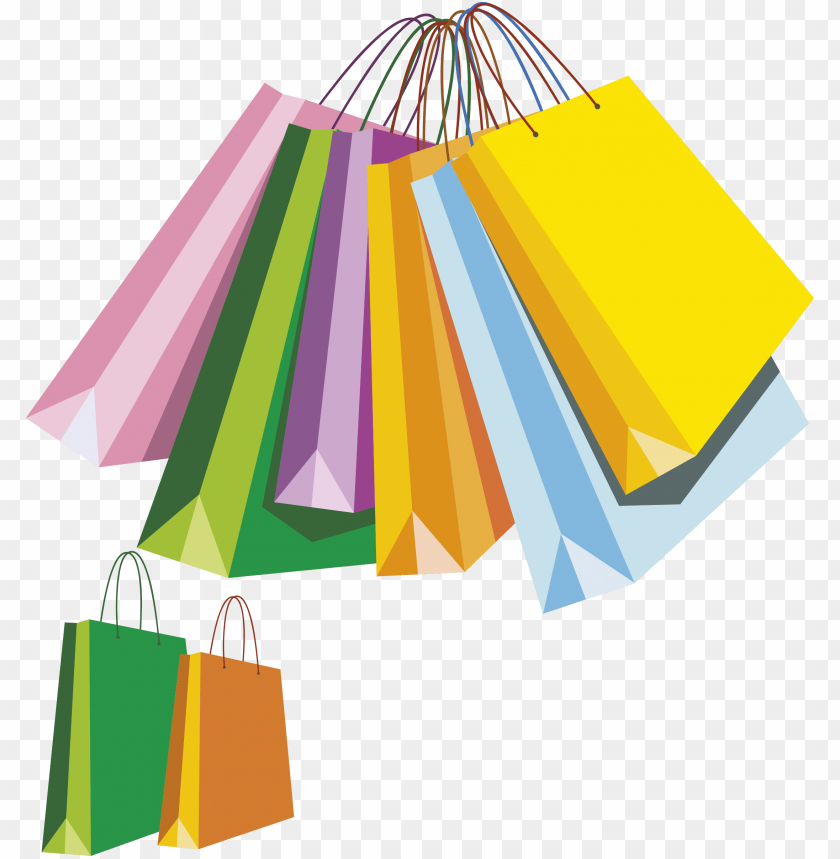 free PNG shopping bags clipart png - clip art shopping bags PNG image with transparent background PNG images transparent