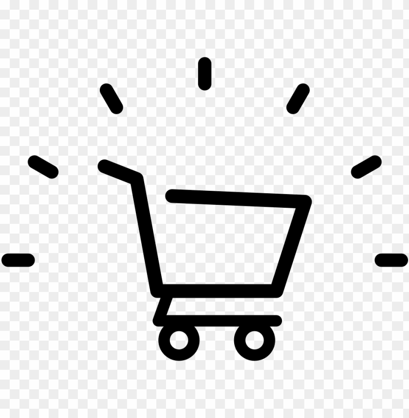 free PNG shopping cart sign - shopping cart empty ico PNG image with transparent background PNG images transparent