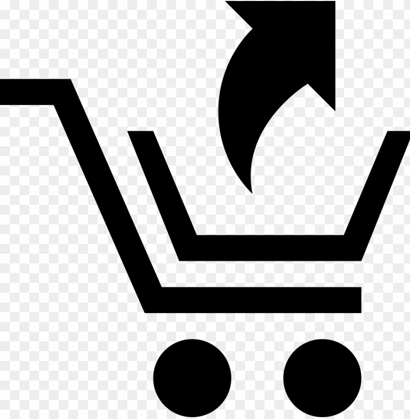 free PNG shopping cart with an up arrow comments - ico PNG image with transparent background PNG images transparent