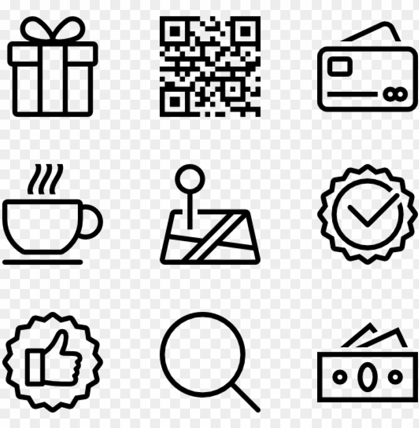 free PNG shopping line icons - shopping line ico PNG image with transparent background PNG images transparent