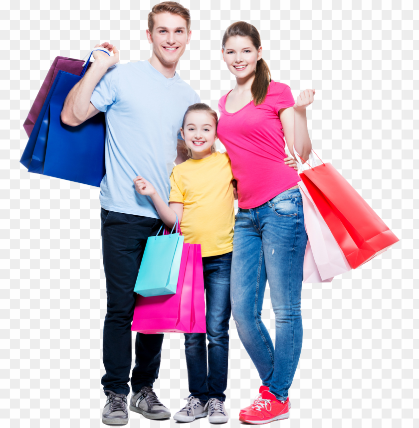 free PNG shopping stock photography family retail - family shopping photo PNG image with transparent background PNG images transparent