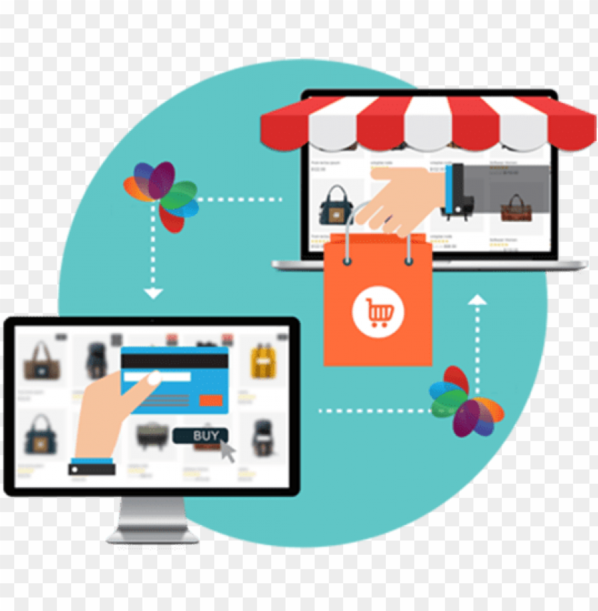 free PNG shopping website development - ecommerce website PNG image with transparent background PNG images transparent