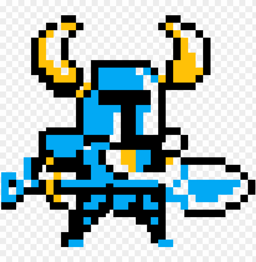 free PNG shovel knight - shovel knight pixel sprite PNG image with transparent background PNG images transparent