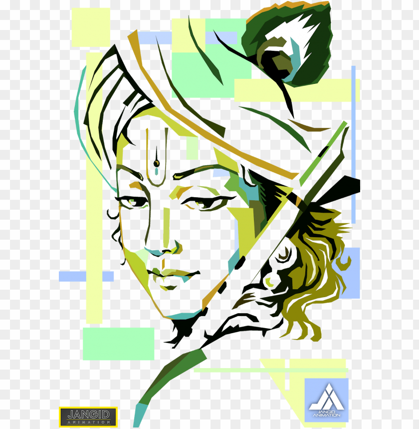 shri krishana vector illustrator cool design wallpaper lord krishna flute painti 11563030083urt7sas4k4
