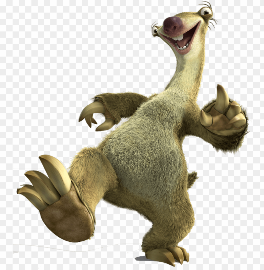 free PNG sid the sloth png banner freeuse stock - sid ice age PNG image with transparent background PNG images transparent
