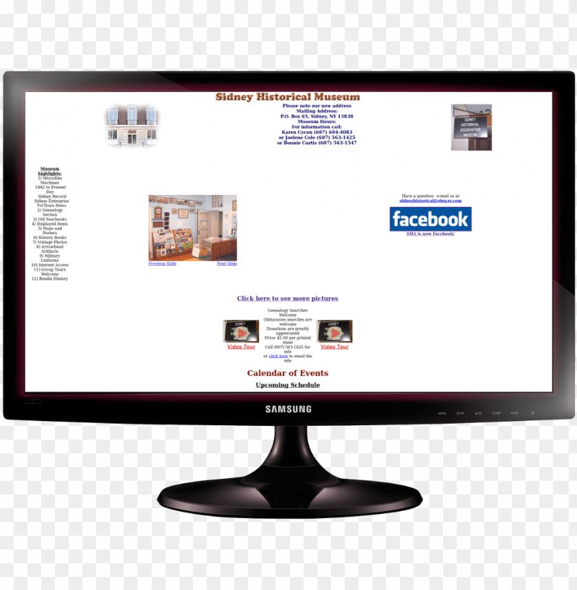 free PNG sidney historical association website design web design - computer monitor PNG image with transparent background PNG images transparent