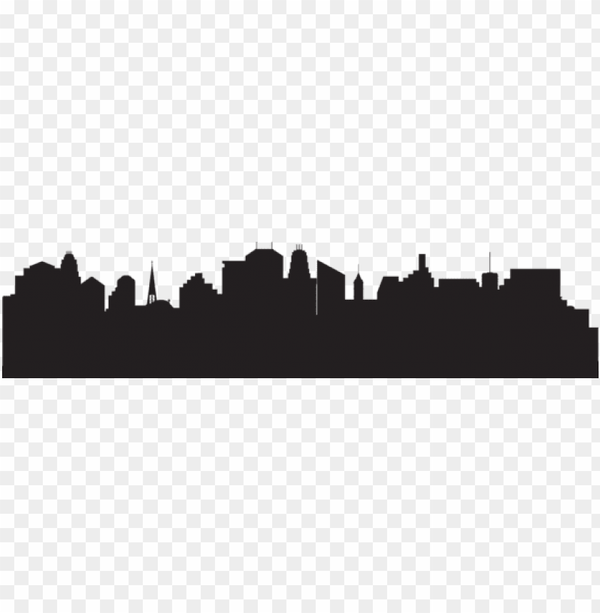 free PNG silhouette cityscape png - Free PNG Images PNG images transparent
