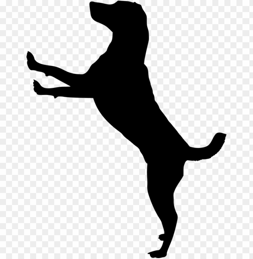 free PNG silhouette, dog, doggy, animal, dog house, pet, run - dog jumping silhouette PNG image with transparent background PNG images transparent
